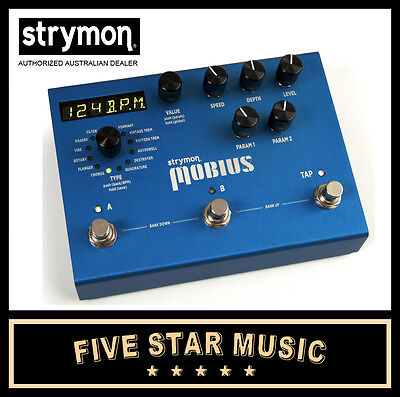 Strymon Mobius Modulation Guitar Effects Pedal New