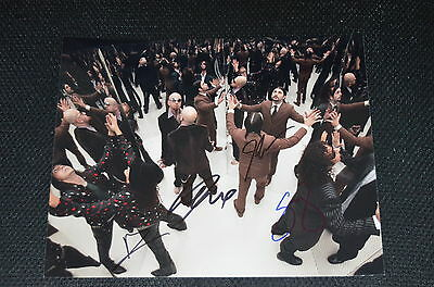 SYSTEM OF A DOWN signed autograph In Person 8x10 20x25 cm full band !!!