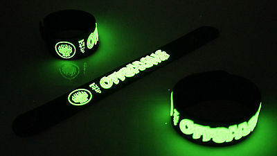 THE OFFSPRING NEW! Glow in the Dark Rubber Bracelet Wristband Days Go By vg86