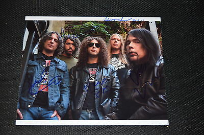 MONSTER MAGNET signed autograph In Person 8x10 (20x25 cm ) full band