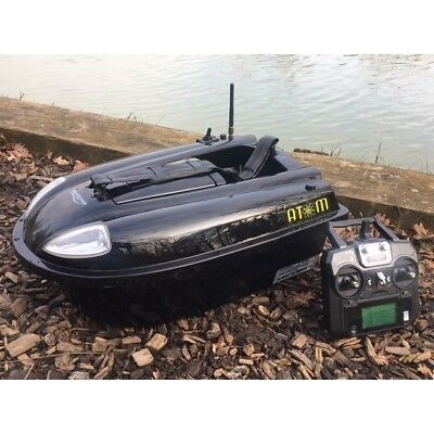 Waverunner Atom Bait Boat + Colour Fish Finder (2016)