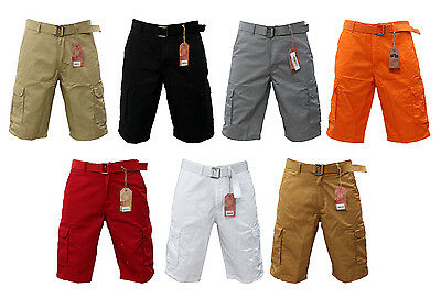 2e72402cb0 New Men Ibs / Wnm 7 Different Colors Of Solid Cargo Shorts Size 32 Up To