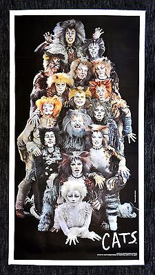 CATS * CineMasterpieces ORIGINAL BROADWAY SHOW THEATER NEW YORK PLAY POSTER 1987