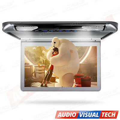 "XTRONS 13"" Digital Screen Car Roof Mount Overhead Monitor HDMI/USB/SD 1920x1080"