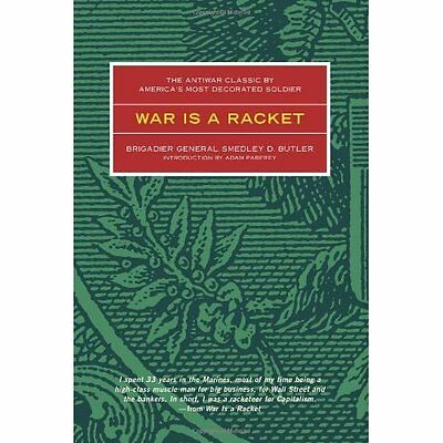 War is a Racket Butler Politics government Feral House,U.S. PB / 9780922915866