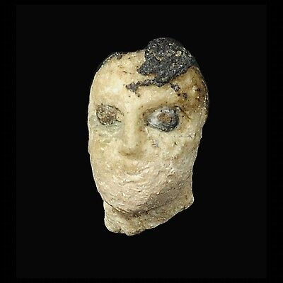 Aphrodite- Ancient Middle Assyrian Frit Female Head