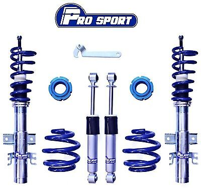 Vw T5 Sportline Coilovers - Adjustable Coilover Suspension Lowering Kit