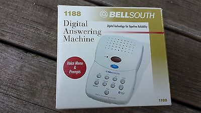 Bell South Digital Answer System Model 1188 W/ Adapter In Original Box