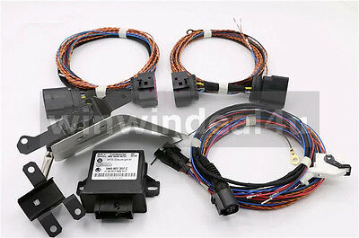 Auto Leveling Headlight Xenon AFS Module Kit Harness For VW Golf 6 Jetta MK5 GTI