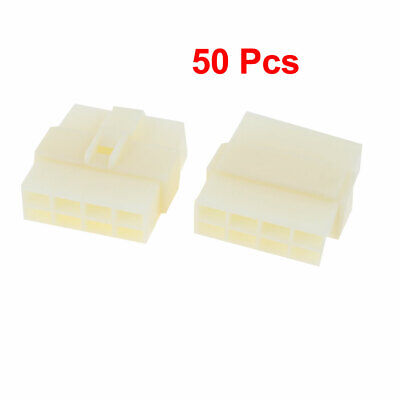 Electric Auto Car RC/RV Connector 8-Pin Male to Female 50 Pcs