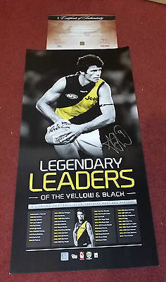 Richmond Tigers Trent Cotchin Signed Legend Limited Official Lithograph Print