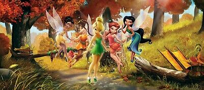Wall mural wallpaper Disney Tinkerbell and friends fairies fairy forest photo 20