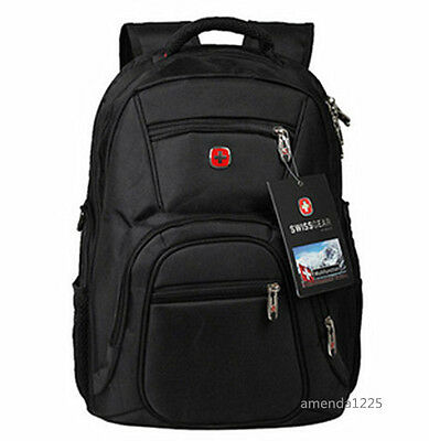 Swiss bag Men Women Laptop Backpack Computer Outdoor School Army Travel Bag