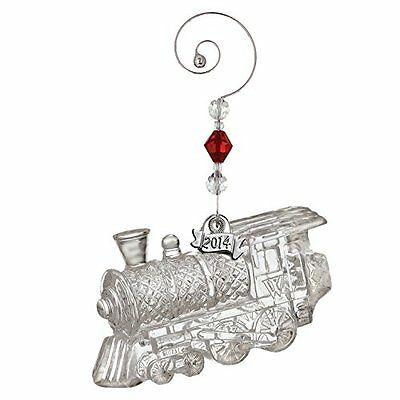 Holiday Christmas Collection Waterford Crystal Giftology Train Engine Decoration