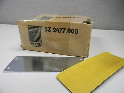 Lot Of 3 Rittal Sz 2477.000 Cover Plates