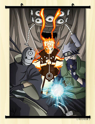 Japan Anime NARUTO Uzumaki Naruto Uchiha Sasuke Home Decor Wall Poster Scroll L