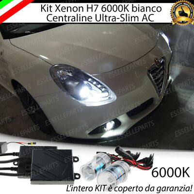 Kit Xenon Xeno Ac H7 6000K 35W Specifico Alfa Romeo Giulietta 100% No Error