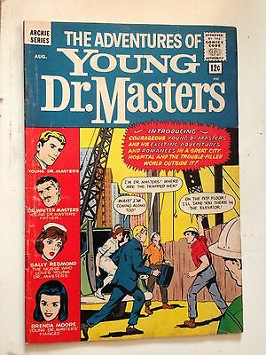 The Adventures of Young Dr. Masters #1/Silver Age Archie Comic Book/VG-FN