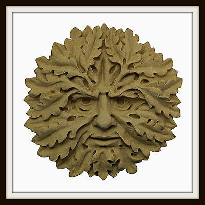 The Oak Green Man ~ Greenman Wall Plaque ~ Garden Or Indoors ~ Uk Made