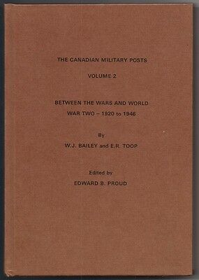 Canadian Military Posts Between Wars, World War II 1920-46 V 2 Postal Mail