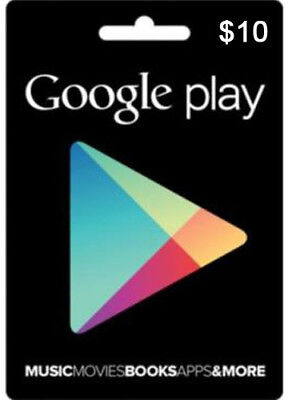Google Play $10 Gift Card US Card Android USD Gift Certificate Karte NEU