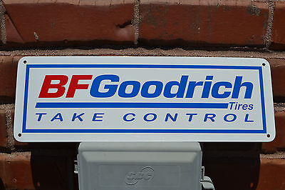 BF GOODRICH Tires SIGN Take Control Racing Tire Shop Advertising Logo SIGN