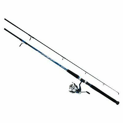 Daiwa D-Wave Saltwater Spin Combo 3BB Sz40 8ft 2pc Med