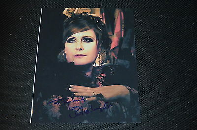 ALISON MOYET signed Autogramm 20x25 cm In Person