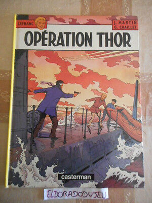 Eldoradodujeu   Bd - Lefranc : Operation Thor - Casterman 1991 Be**