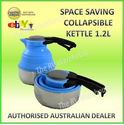 Collapsible Kettle 1.2L Space Saving New Caravan Camping RV  Boat Parts