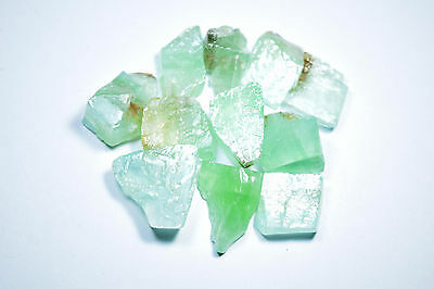 50g Natural Rough Green Calcite Lot (GrnCal01)