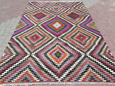 "Anatolia Turkish Classic Antalya Kilim 70,8"" x106,2"" Area Rug Carpet , Kilim Rug"