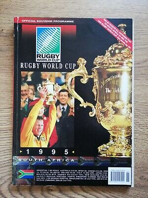 Rugby World Cup 1995 Official Tournament Programme