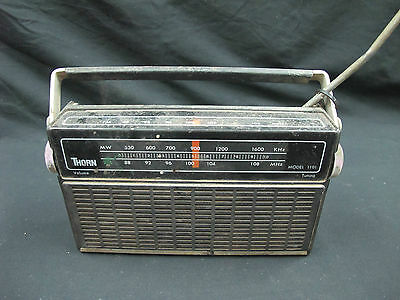 THORN FM/MW 2-Band Receiver  MODEL : 1101 Not Tested Sold AS-IS