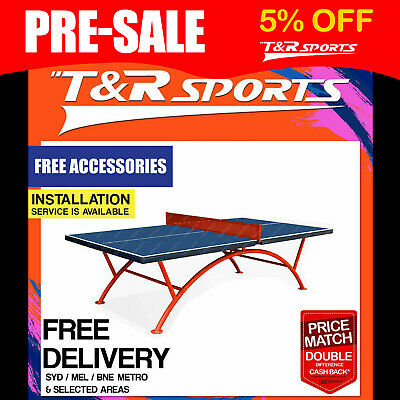 OUTDOOR PRIMO Triumph 188 Table Tennis / Ping Pong Table Free Accessory Bats Net