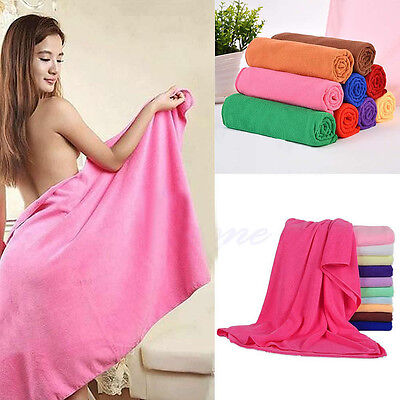 New Microfiber Towel Sports Bath Gym Quick Dry Travel Swimming Camping Drying