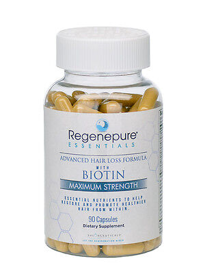 Regenepure Essentials Hair Growth Vitamins / 90 Tablets - Hair Loss Supplement