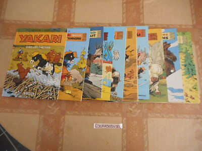 Eldoradodujeu   Bd - Lot Collection  De 10 Albums Yakari - Casterman** Dont 6 Eo