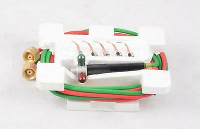 Top Jewelry Gas Torch Welding Soldering Little Torch Full w/ Hoses & 5 tips