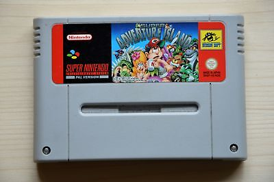 SNES - Super Adventure Island für Super Nintendo