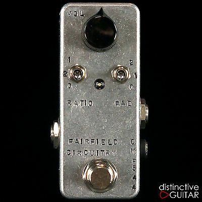 New Fairfield Circuitry Accountant Analog Compressor Pedal - Transparent Tone