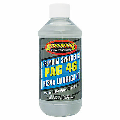 Supercool PAG 46 Synthetic Air Conditioning Lubricant R-134a R134a - 237ml 8oz