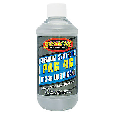 Supercool PAG 46 Synthetic Air Conditioning Lubricant - 237ml 8oz | ND8 ND-8