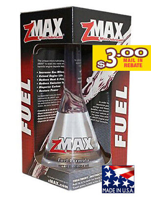zMAX Fuel Treatment (12oz.) Fuel Formula - 51112