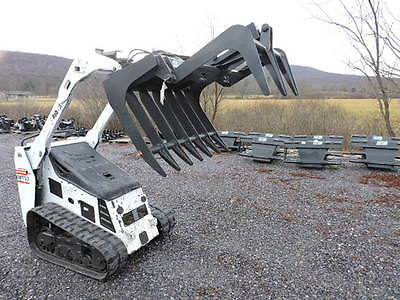 CID Xtreme Root Grapple Bucket Fits Bobcat MT MT52 MT55 463 S70 Mini Skid Loader