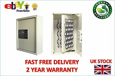 Futura Digital Home High Secuirty Electric Office 105 Key Wall Steel Box Safe