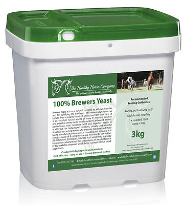 Brewers Yeast 3kg Refill (Digestion, Nervous System, B Vitamins)