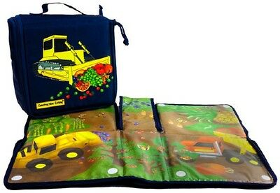 Constructive Eating Transforming Construction Lunch Tote large placemat