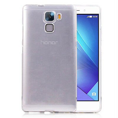 For Huawei Honor 7 Ultra Thin Clear Invisible gel skin case cover