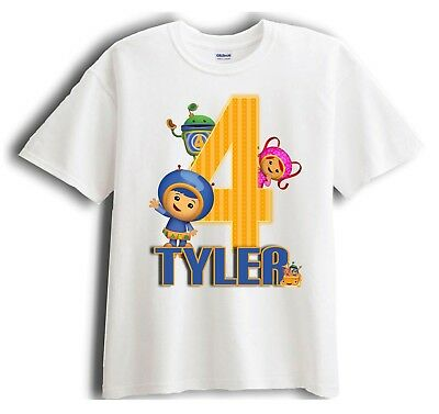 Team Umizoomi Personalized - Birthday T-Shirt Party Favor